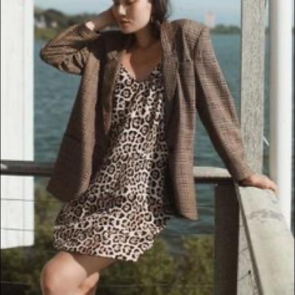 ATM Anthony Thomas Melillo Dresses & Skirts - SOLD Silk ATM Leopard 🐆 Slip